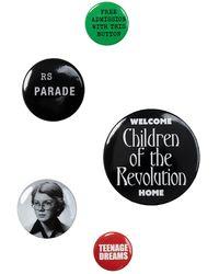 Raf Simons Set Of Pins - Multicolour