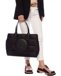 Tory Burch 'ella' Hand Bag - Black