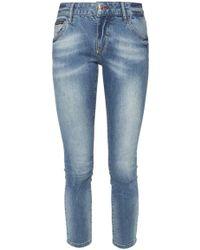 Philipp Plein - Appliqued Jeans - Lyst