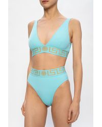 Versace Swimsuit Top - Blue