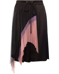 Iceberg Embellished Shorts - Black