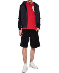 Moncler - Jacket With Quilted Front - Lyst