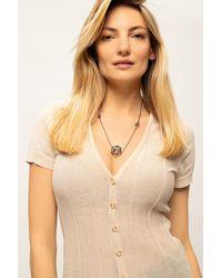 Midgard Paris 'face Of Midgard' Necklace - Metallic