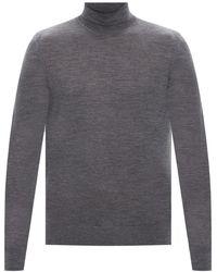 Samsøe & Samsøe Wool Turtleneck Jumper Grey