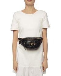 Ferragamo Quilted Belt Bag - Black