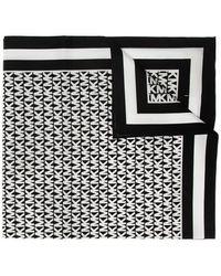 MICHAEL Michael Kors Scarf With Logo Black
