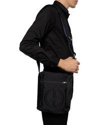 Giorgio Armani Branded Shoulder Bag - Black