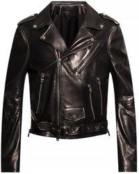 Amiri Leather Jacket - Black