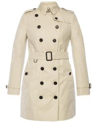 Burberry - 'sandringham' Double-breasted Trench Coat - Lyst