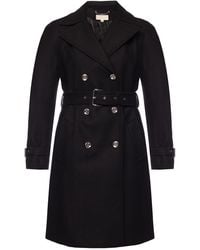 Michael Kors Double-breasted Coat - Black