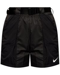 Nike Logo Shorts - Gray