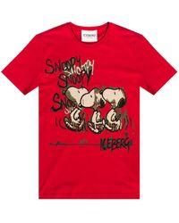 Iceberg Snoopy T-shirt - Red