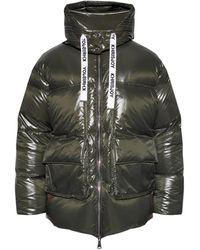 Khrisjoy Hooded Down Jacket - Green