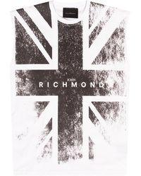 John Richmond Tank Top With Logo - White