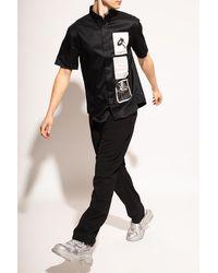 MISBHV 'recordings' Shirt Black