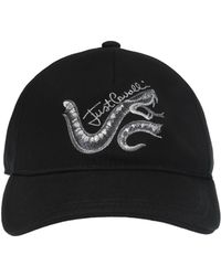 Just Cavalli - Branded Baseball Cap - Lyst fc5359efc94a
