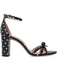 Kate Spade 'flamenco' Heeled Sandals Black