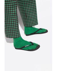 Vetements Flip-flops With Logo - Black
