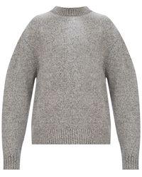 Acne Studios Rib-knit Sweater - Grey