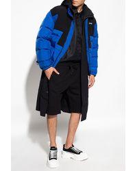 Dolce & Gabbana Embroidered Shorts Black