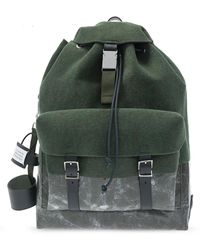 Maison Margiela Felt Backpack - Green