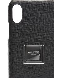Saint Laurent Iphone X Case Black