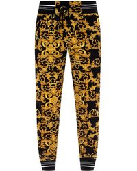 Versace Jeans Couture Branded Sweatpants Black