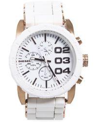 DIESEL - Steel Watch - Lyst