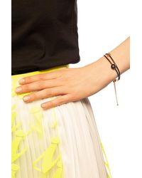 Tory Burch Kira Enamelled Slider Bracelet - Multicolour