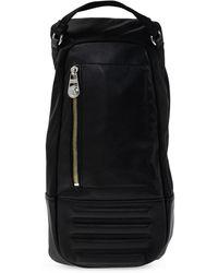 DIESEL Leather-trimmed Bag Black