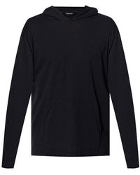 Theory Classic Jersey Hoodie - Black