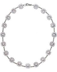 Bottega Veneta - Silver Necklace - Lyst