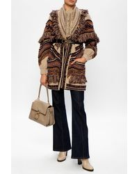Etro Patterned Cardigan Multicolour - Brown