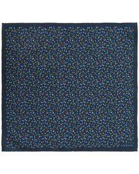 Lanvin - Patterned Pocket Square - Lyst