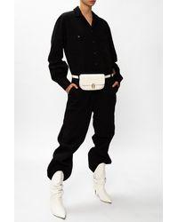 N°21 Jumpsuit With Logo - Black