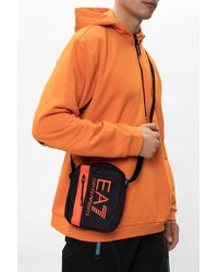 EA7 Branded Shoulder Bag - Blue