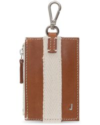 Jacquemus Wallet With Clip - Brown