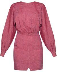 Étoile Isabel Marant Puff-sleeve Dress - Purple