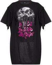 DIESEL Printed T-shirt Black