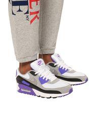 Nike 'air Max 90' Sneakers Purple
