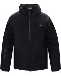 Nike 'acg' Jacket With Logo Black