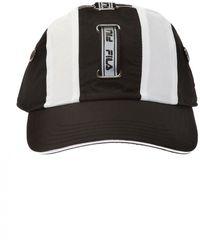 Fila Logo Baseball Cap - Black