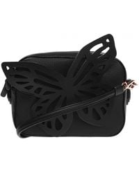 Sophia Webster 'flossy' Shoulder Bag Black