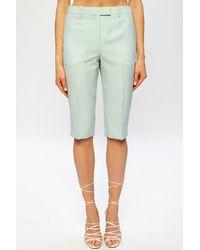 Givenchy Wool Shorts - Green