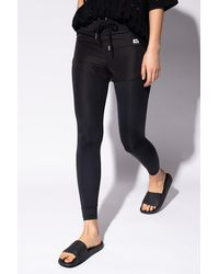 DIESEL Legging-shorts Black
