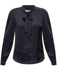 Zadig & Voltaire Tie-neck Blouse - Black
