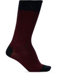 Ferragamo Patterned Socks - Blue