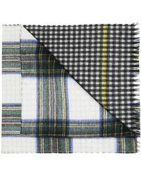 Berluti Checked Cashmere Scarf - Multicolour