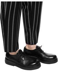 Marsèll Lace-up Platform Shoes Black