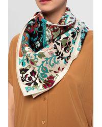 Ferragamo Silk Scarf Multicolour